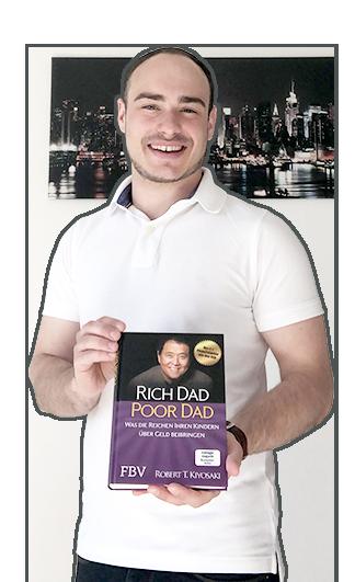 Adrian Schejbal schenkt dir das Buch Poor Dad Rich Dad